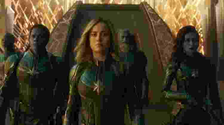 Algenis Pérez Soto (à esquerda) em cena do novo Capitã Marvel - Reprodução - Reprodução