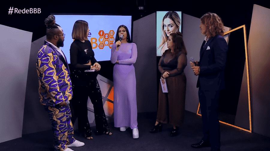 Em entrevista, Hana critica ex-colegas de confinamento - Reprodução/GloboPlay