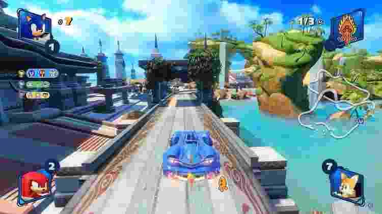 Team Sonic Racing - Power Up - Reprodução - Reprodução