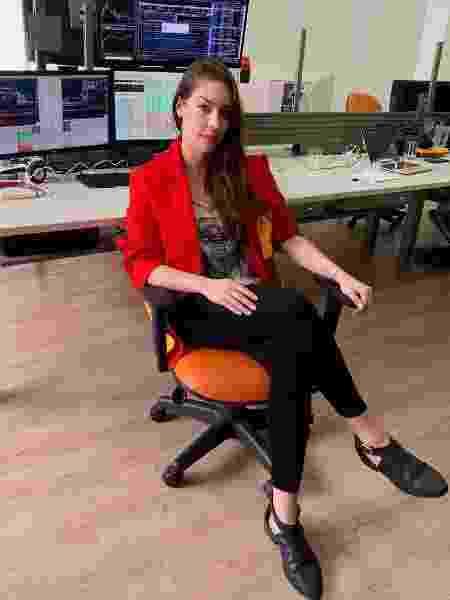 Natália Dalat começou investindo R$ 1 mil e hoje vive disso - Arquivo Pessoal