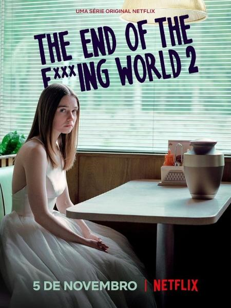 Resultado de imagem para the end of the f *** ing world nova temporada poster