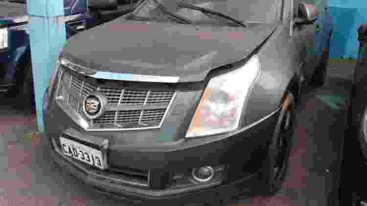 Cadillac leiloado pelo Detran-SP - Divulgação - Divulgação