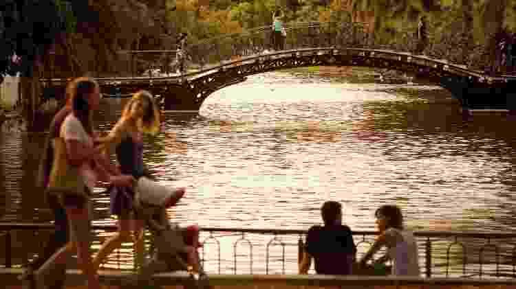 O Rosedal de Palermo é um dos destaques do Parque Tres de Febrero - Ente de Turismo de la Ciudad de Buenos Aires/Divulgação