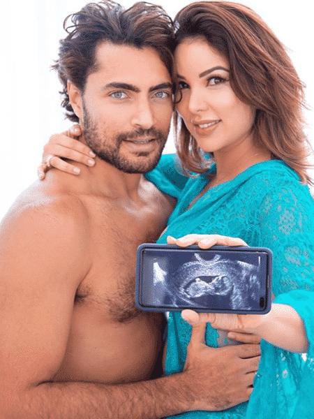 Liah Soares e Carlo Porto serão pais de uma menina - Reprodução / Instagram