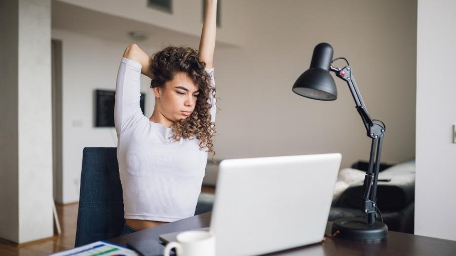 """Dicas """"zen"""" para manter a produtividade no home office - iStock"""