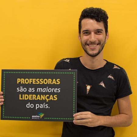 Cristiano Ferraz, professor que criou Movimento Amplia  - Divulgação