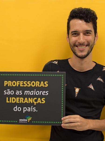 Cristiano Ferraz, professor de Petrolina (PE), criou Movimento Amplia  - Divulgação