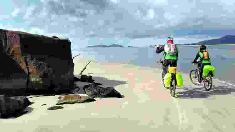 cicloturismo lagamar - Prefeitura Municipal de Ilha Comprida/Divulgação - Prefeitura Municipal de Ilha Comprida/Divulgação