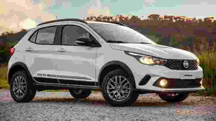 Fiat Argo Trekking - Divulgação - Divulgação