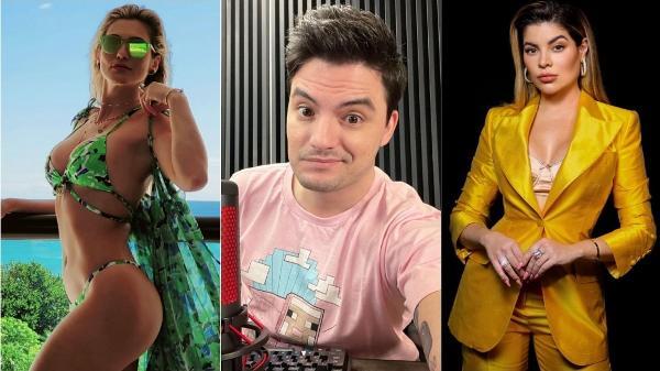 Lívia Andrade, Felipe Neto e Gkay tiveram seus nomes envolvidos em tretas
