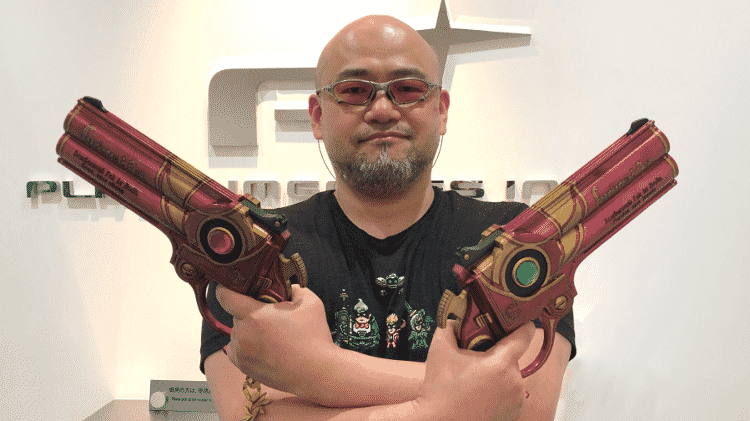 Hideki Kamiya (Devil May Cry) - Reprodução / Twitter (@platinumgames) - Reprodução / Twitter (@platinumgames)