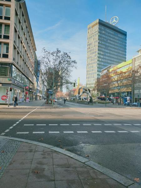 Ruas de Berlim vazias com Alemanha em lockdown há três meses para conter covid-19 - Nina Lemos/arquivo pessoal