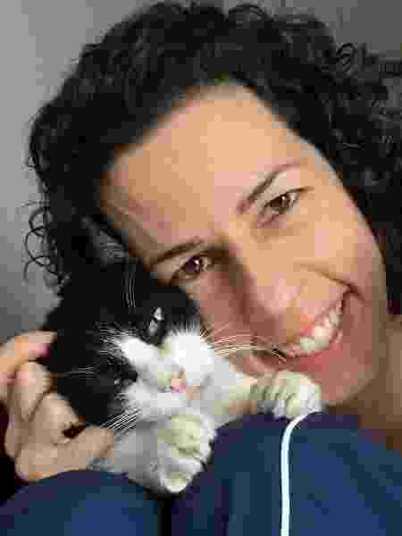 Ela se tornou protetora animal e tem um site sobre felinos - Arquivo pessoal - Arquivo pessoal
