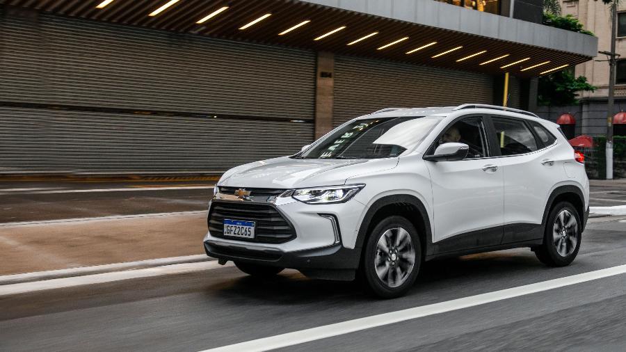 Chevrolet Tracker roda 1,4 quilômetro a menos por litro de gasolina do que Onix com mesmo motor - Divulgação