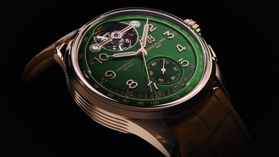 Breitling Premier B21 Chronograph Tourbillon 42 Bentley Limited Edition - Divulgação