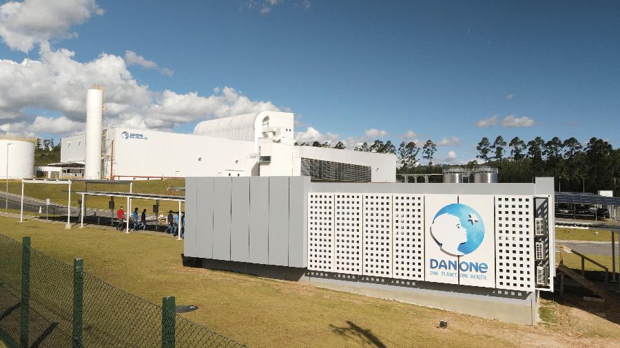 Vista da Planta de nutrição especializada da Danone em Poços de Caldas (MG) - Danone/Divulgação