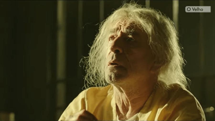 """Em """"O Velho"""", Luiz Guilherme interpreta um homem que matou 45 pessoas - Reprodução"""