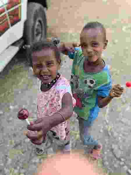 Cenas que Danilo captou: das crianças em situação de pobreza... - Aqruivo pessoal - Aqruivo pessoal