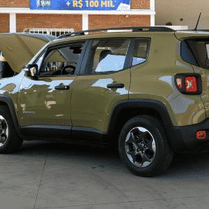 Jeep Renegade Sport 1.8 Flex A/T vs. Jeep Renegade Sport 2.0 4x4 Diesel A/T - Murilo Góes/UOL