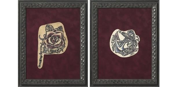 A NAPSA transforma tatuagens de pessoas mortas em quadros de parede - Reprodução/NAPSA