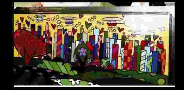 Mesma tela? Obra dada de presente a Lula em 2008 - Divulgação - Divulgação