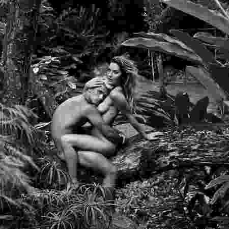 Giovanna Ewbank publica foto nua com Bruno Gagliasso para comemorar Dia dos Namorados - Reprodução/Instagram/gio_ewbank