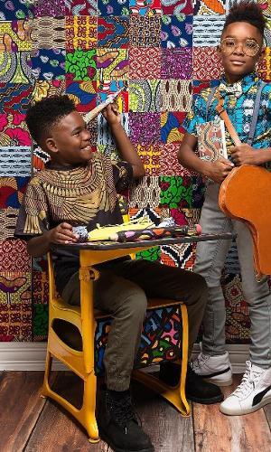 """Por isso, o casal criou a série """"AfroArt"""". O objetivo é exaltar a beleza dos cabelos afro"""