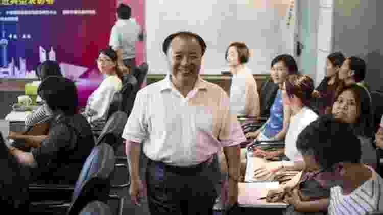 Co-fundador do Weiqing, Shu Xin, diz que o local já teve um milhão de clientes - Alamy - Alamy