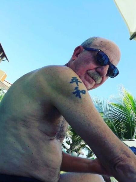 Fabíola Reipert publica foto com tatuagem de jornalista da Record - Reprodução/Facebook/fabiolareipert