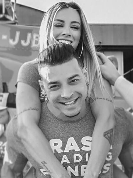 Juju Salimeni e Felipe Franco - Reprodução/Instagram