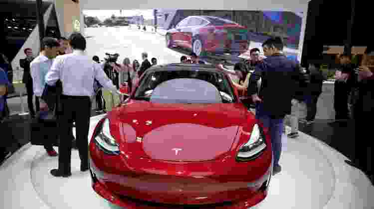 Tesla Model 3 - Jason Lee/Reuters - Jason Lee/Reuters