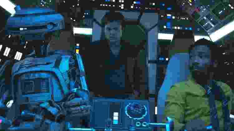 Phoebe Waller-Bridge (como a droide L3-37) em Solo: Uma História Star Wars - Divulgação/Lucasfilm - Divulgação/Lucasfilm
