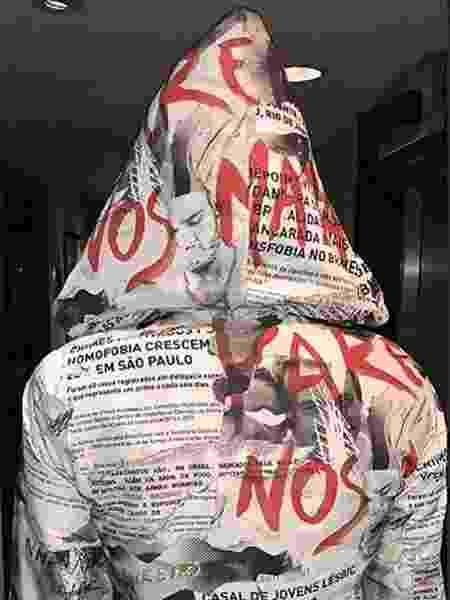 Figurino de Pabllo Vittar para Parada Gay - Reprodução/Instagram/@pabllovittar