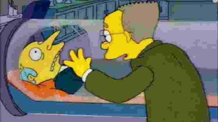 """Senhor Burns em cena de """"Os Simpsons"""" - Reprodução - Reprodução"""