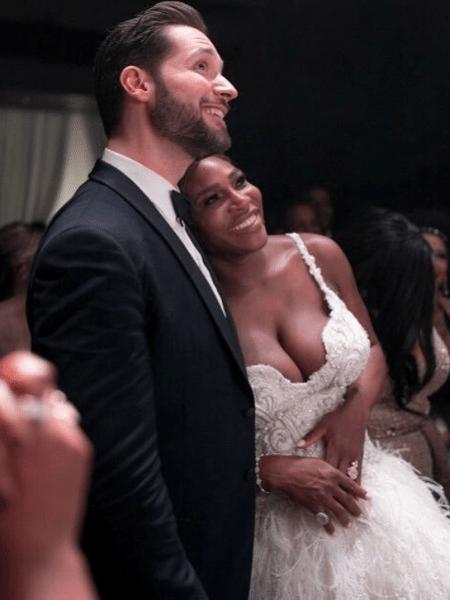 Serena Williams e o marido, Alexis Ohanian - Reprodução/Instagram