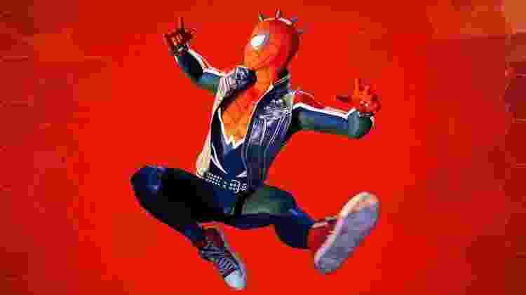 Spider Punk Suit - Reprodução - Reprodução