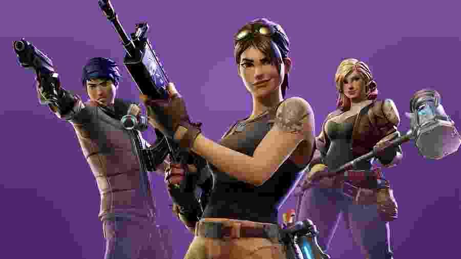 """""""Fortnite"""" é um dos jogos mais rentáveis da Epic Games, com mais de 200 milhões de jogadores registrados até o momento. - Divulgação"""