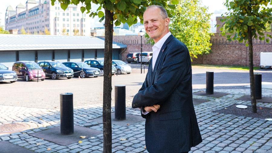 O ministro noruguês Ketil Solvik-Olsen - AFP