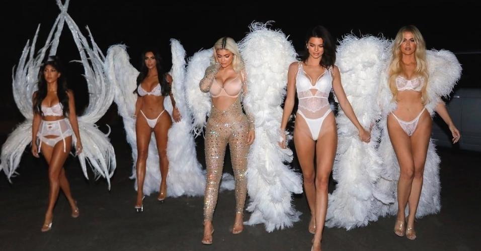 Kourtney, Kim, Kylie, Kendall e Khloé Kardashian
