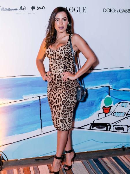 Anitta faz desabafo e protesta contra desafio dos 10 anos - Reprodução/Instagram