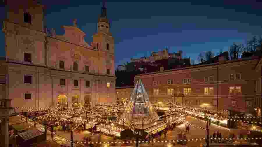 "Igreja em Salzburgo, na Áustria, onde ""Noite Feliz"" foi tocada pela primeira vez - Stille Nacht - SalzburgerLand Tourismus GmbH"