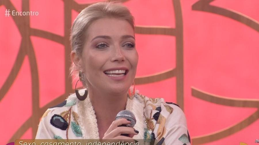 """Luiza Possi no """"Encontro"""" - Reprodução/Globo"""