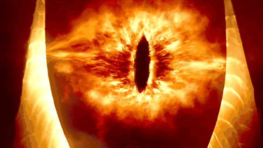 """Sauron em """"O Senhor dos Aneis"""" - Reprodução"""