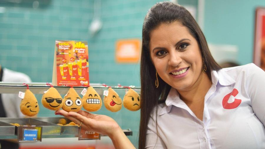 A Carol Coxinhas, franquia criada por Martinelli, tem até fãs espalhados pelo Brasil - Divulgação