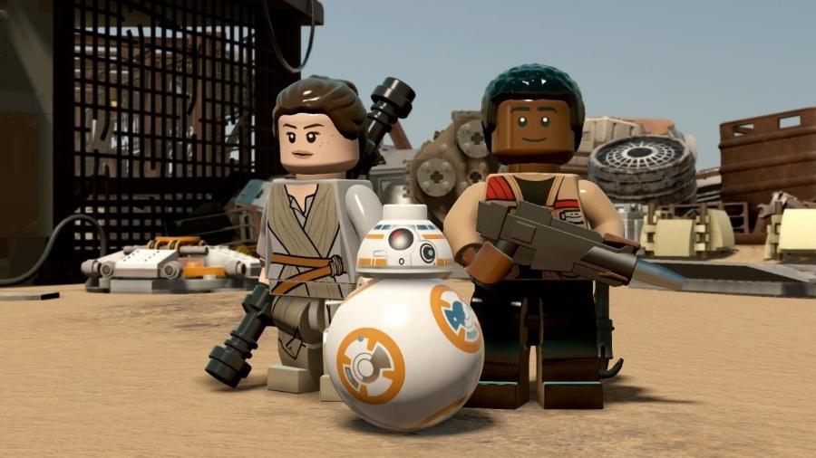 Lego Star Wars - Reprodução
