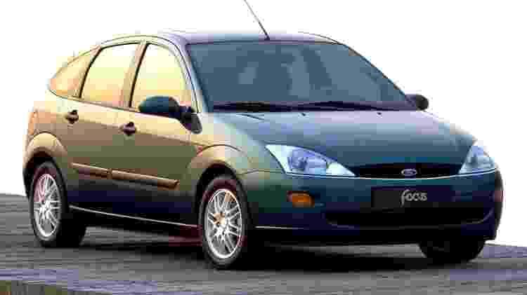Primeira geração do Focus chegou ao Brasil em 2000, já com fabricação em General Pacheco (Argentina) - Divulgação