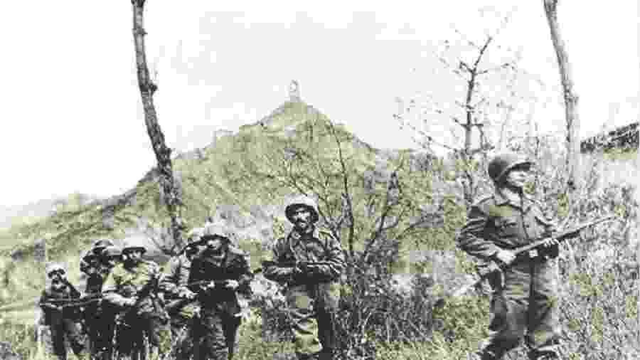 Força Expedicionária Brasileira (FEB) lutou com os Aliados na 2ª Guerra na Itália - Reprodução