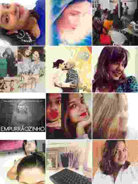Luana registrava muito de seu cotidiano e várias selfies - Reprodução/Instagram