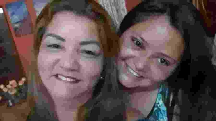Edileuza Silva, motorista de aplicativo, salvou Alziane Cardoso da agressão do ex - Arquivo pessoal