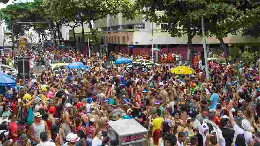 Carnaval de rua em Ipanema, no Rio de Janeiro - Getty Images/iStockphoto